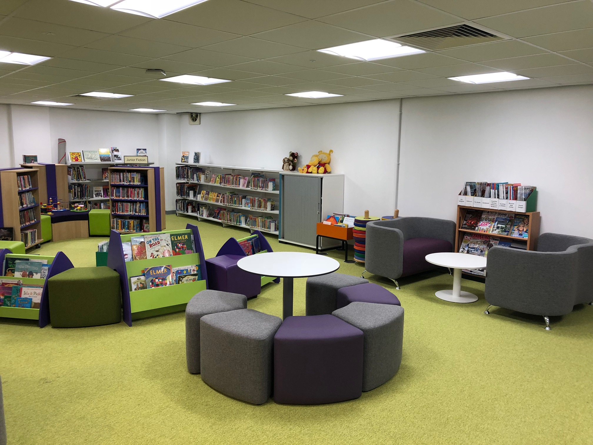 Aboyne Library interior