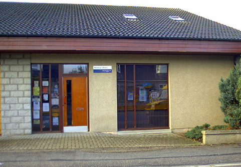 Kemnay Library exterior