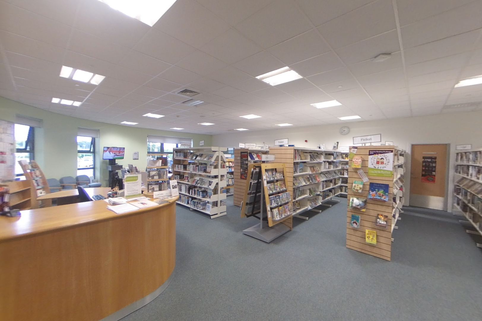 Kintore Library interior