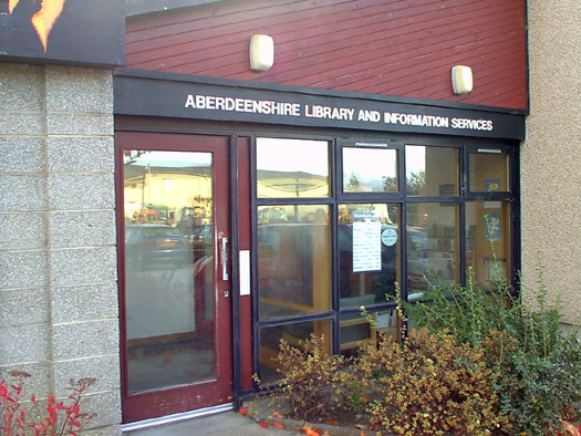 Aberdeenshire Libraries Headquarters exterior