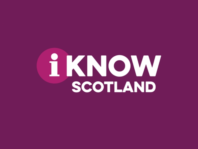 Logo I know Scotland