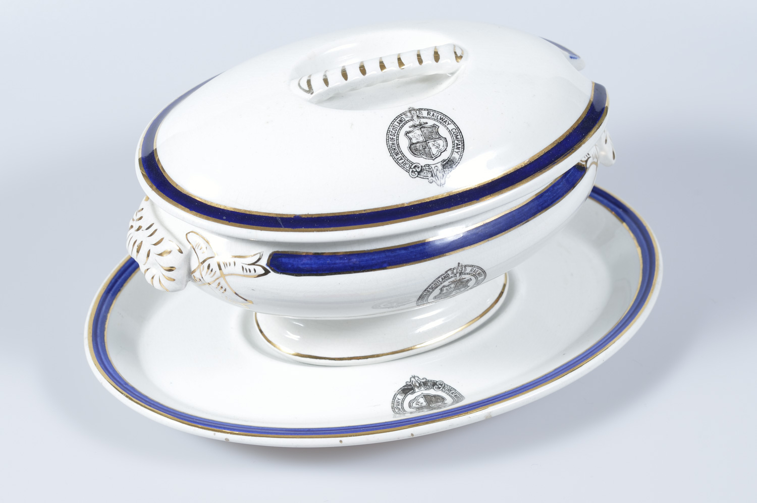 Ceramic tureen from the GNSR hotels