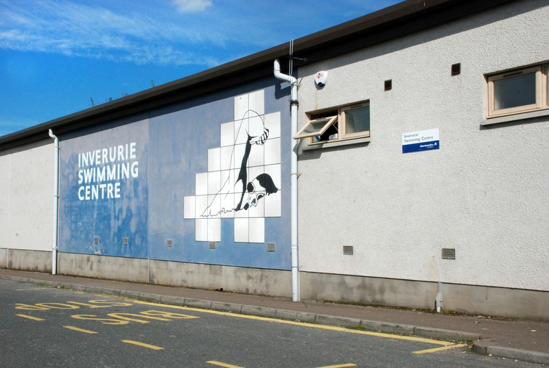 Inverurie Pool front