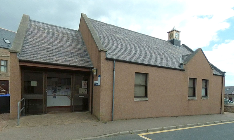Boddam Library exterior