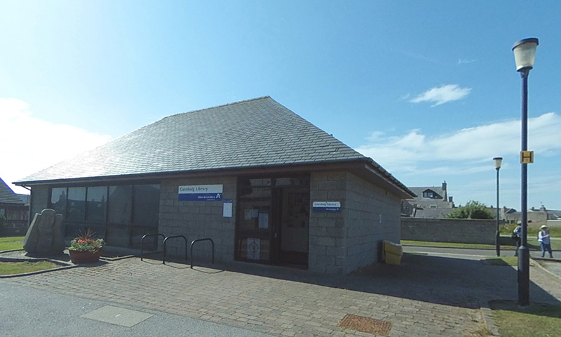 Cairnbulg Library exterior