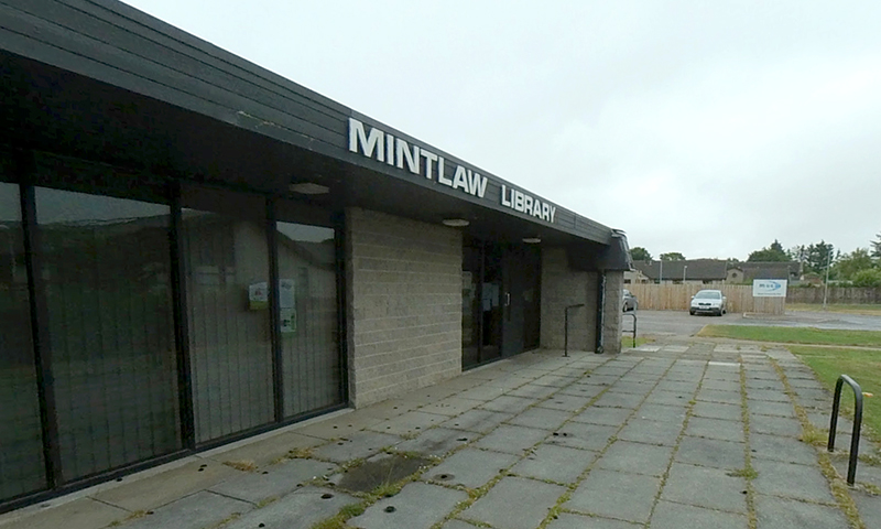Mintlaw Library exterior