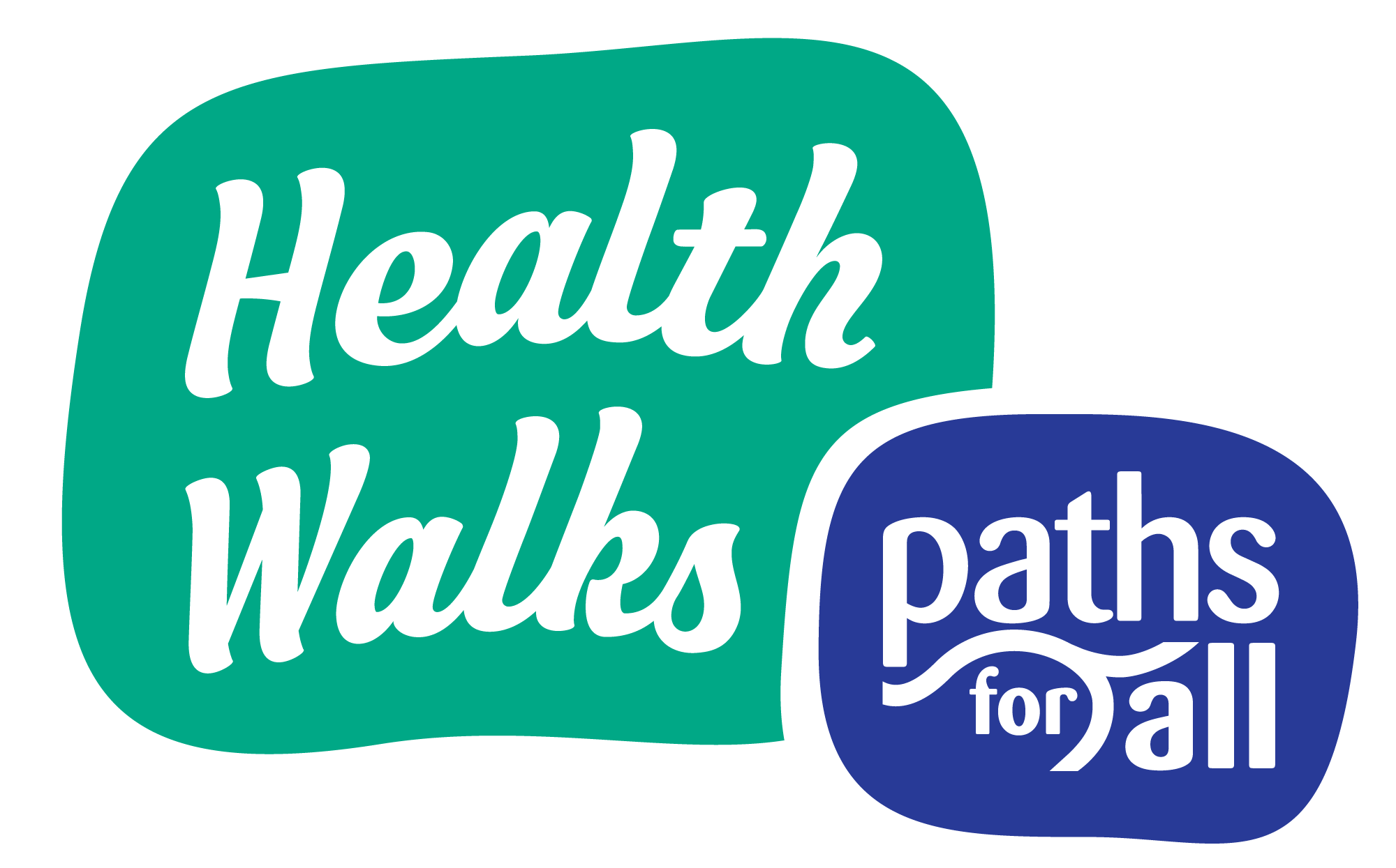 Paths for all, Health Walks logo