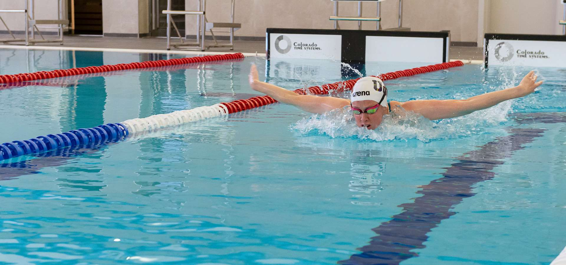 Olympic swimmer Hannah Miley has the first swim in the pool in Inverurie Community Campus