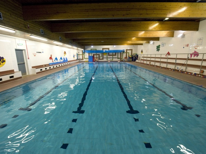 The pool at Turriff